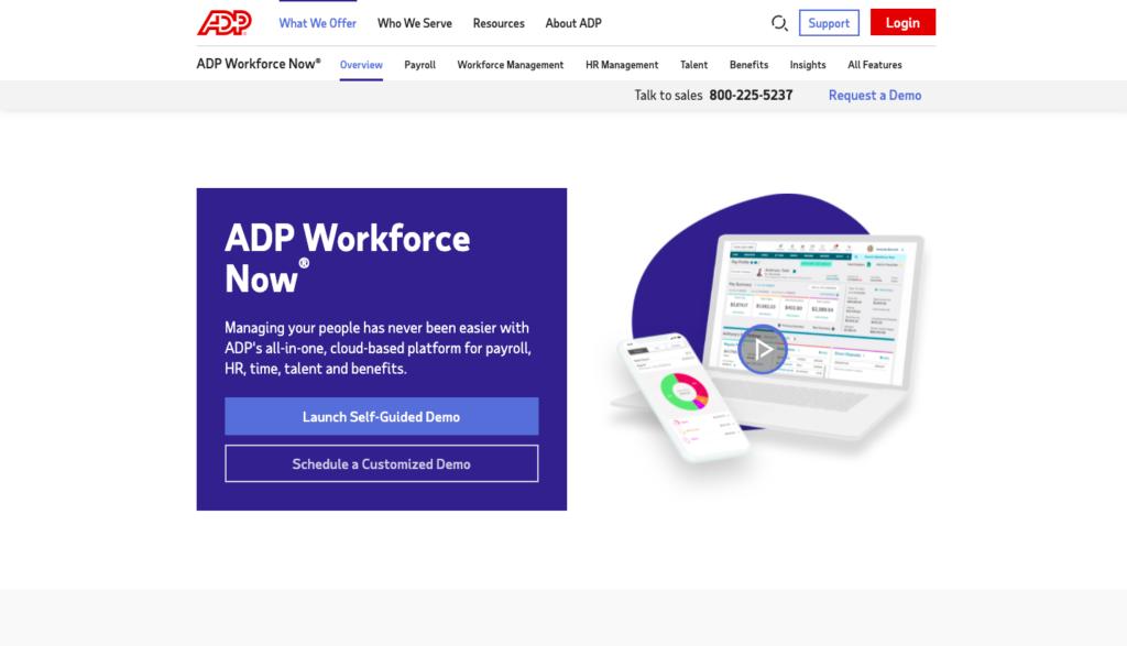 ADP Workforce  performance management software