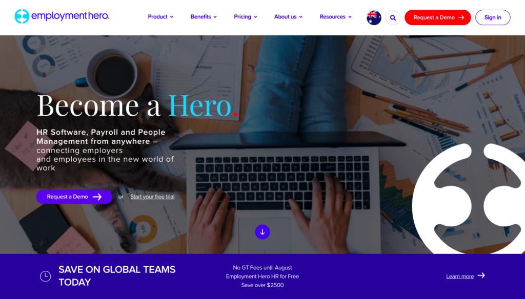Employment Hero performance management software