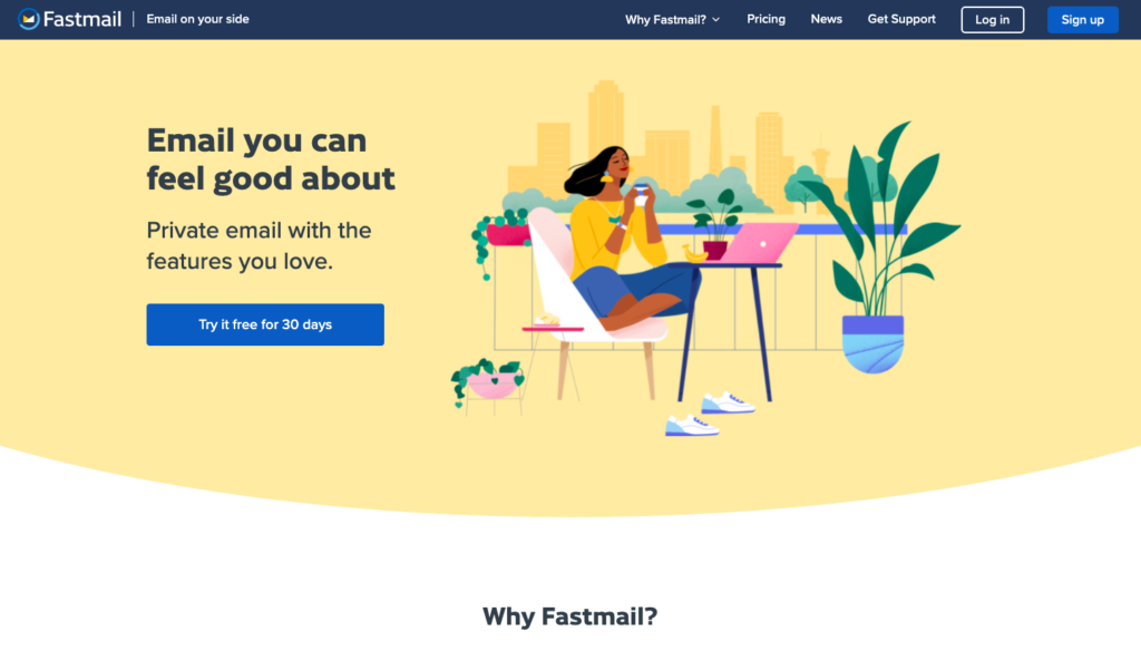 Fastmail email software