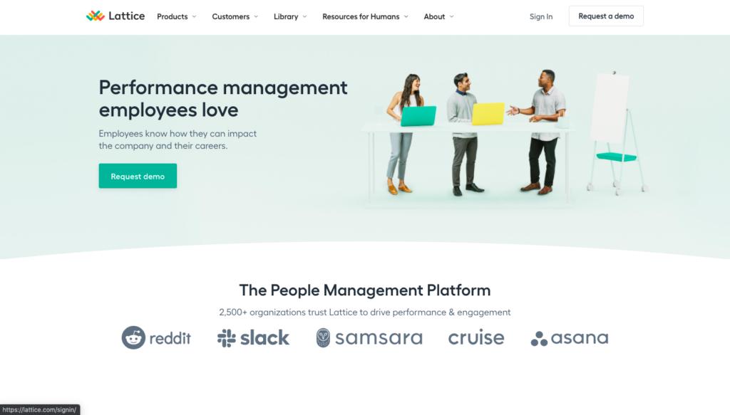 Lattice performance management software